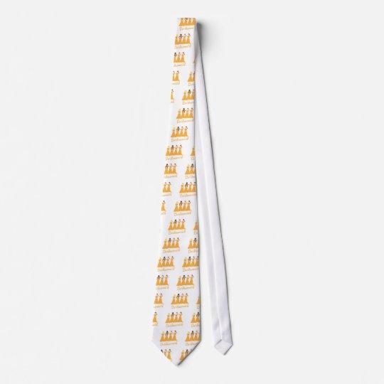 Bridesmaids in Peach tie