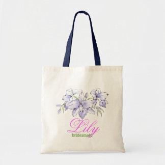 bridesmaid's small gift bag, Custom Tote bag