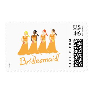 Bridesmaids Stamps stamp