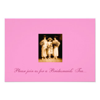 Bridesmaids Tea Invitation