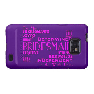 Bridesmaids Thank You Wedding Favors : Qualities Galaxy S2 Cases