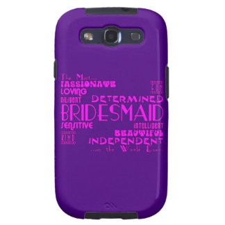 Bridesmaids Thank You Wedding Favors : Qualities Samsung Galaxy S3 Covers