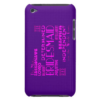 Bridesmaids Thank You Wedding Favors : Qualities Barely There iPod Covers