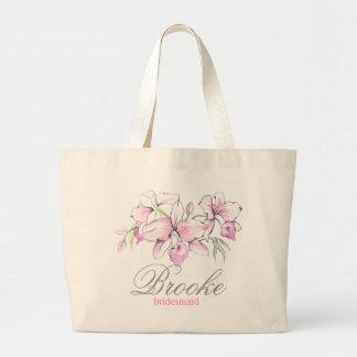 Bridesmaid's tote bag, Custom beach bag