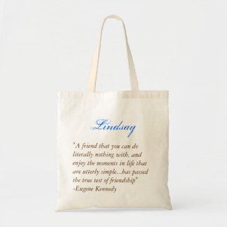 Bridesmaids tote - Quote 1