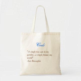 Bridesmaids tote- Quote 3 Canvas Bag
