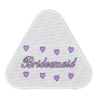 Bridesmaids Wedding Hearts Speaker