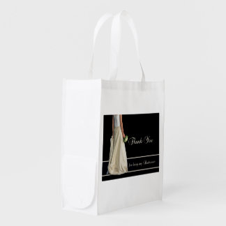 Bridesman thank you grocery bag