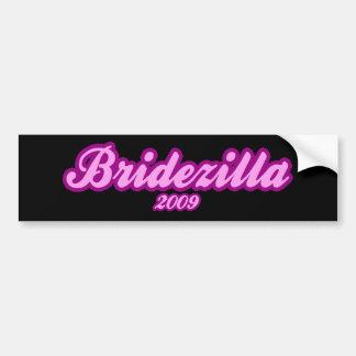 Bridezilla 2009 bumper sticker