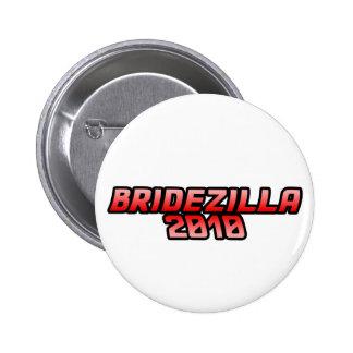 Bridezilla 2010 Wedding humor Button