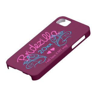 Bridezilla ANY year custom iPhone case