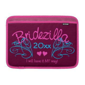 Bridezilla ANY year custom MacBook sleeve