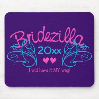 Bridezilla ANY year custom mousepad