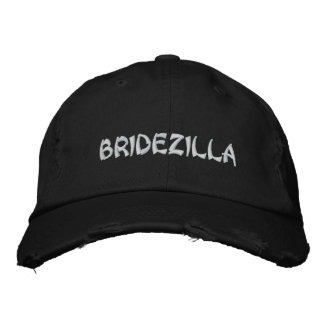 BRIDEZILLA Bride Embroidery cap
