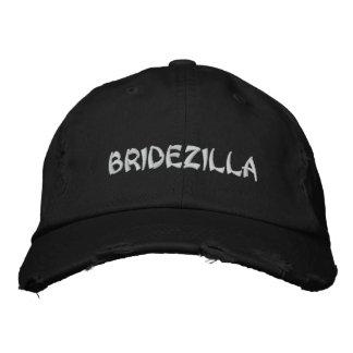 BRIDEZILLA Bride Embroidery cap Embroidered Hat