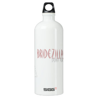 Bridezilla dont touch my water SIGG traveler 1.0L water bottle