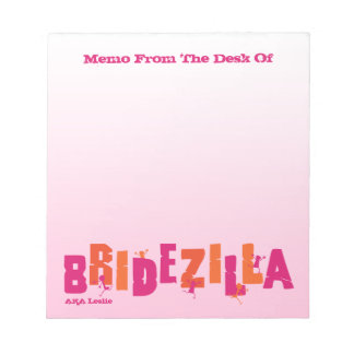 Bridezilla (H) Notepad