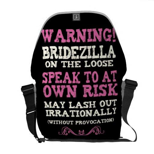 Bridezilla On The Loose Courier Bag
