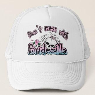 Bridezilla Skull Trucker Hat