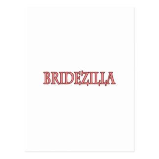 Bridezilla Tarjeta Postal