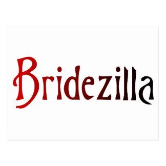 Bridezilla Postales