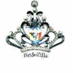 BrideZilla Tiara Sculpture Cut Outs