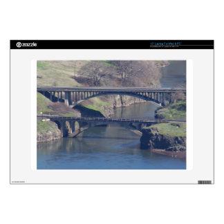 "bridge 15"" laptop decals"
