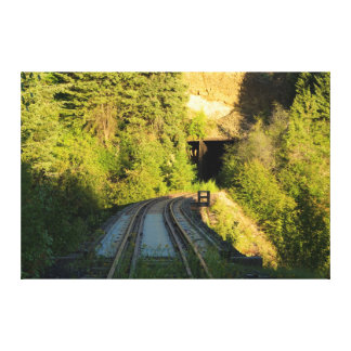 Bridge 23 2 and Tunnel 5 Railroad Canvas Large Gallery Wrapped Canvas