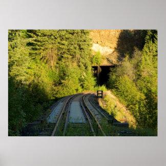 """Bridge 23.2 and Tunnel 5 Railroad Poster (28""""x20"""")"""