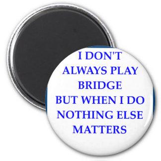BRIDGE 2 INCH ROUND MAGNET