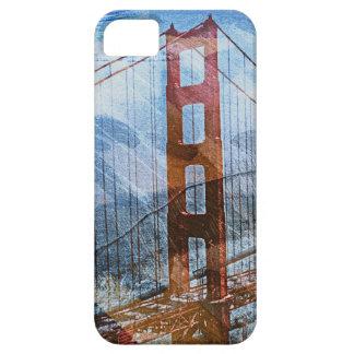 Bridge-A-Lito Golden Gate bridge of San Francisco iPhone 5 Cover
