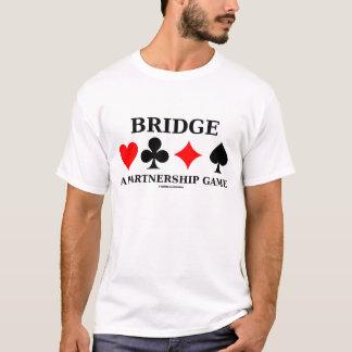 Bridge - A Partnership Game (Bridge Game Humor) T-Shirt