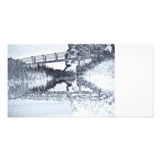 Bridge Across The River Card