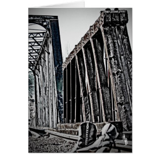 Bridge and Boots Card