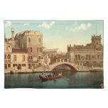 Bridge and Canal, Venice Cloth Place Mat