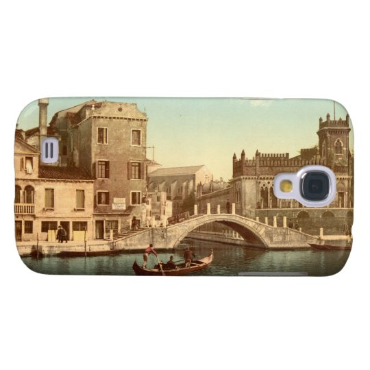 Bridge and Canal, Venice Galaxy S4 Cover