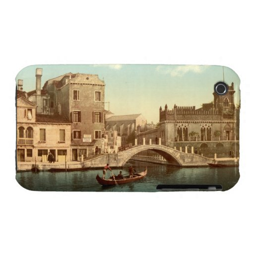 Bridge and Canal, Venice iPhone 3 Cases