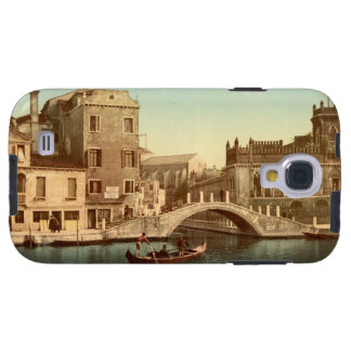 Bridge and Canal, Venice, Italy Galaxy S4 Case