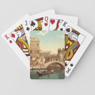 Bridge and Canal, Venice, Italy Playing Cards