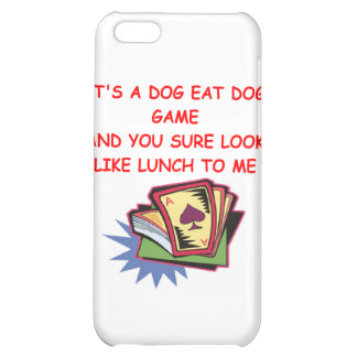 BRIDGE and card game joke Cover For iPhone 5C