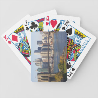 Bridge and Cityscape Bicycle Playing Cards