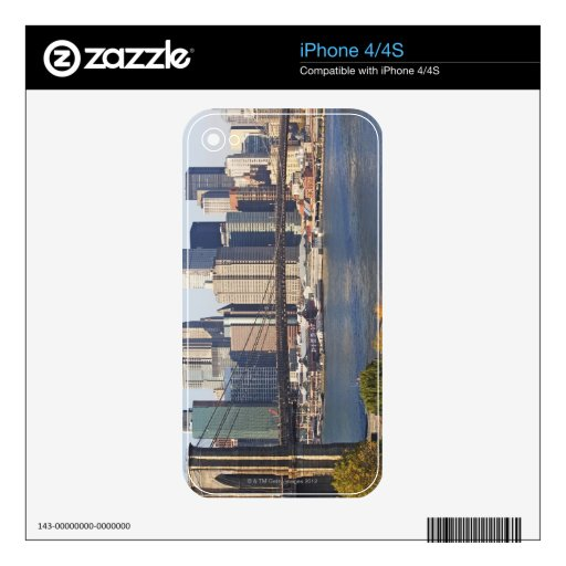 Bridge and Cityscape Decals For The iPhone 4