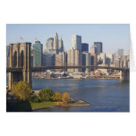 Bridge and Cityscape Greeting Cards