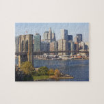Bridge and Cityscape Jigsaw Puzzle