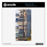 Bridge and Cityscape Skins For iPhone 4