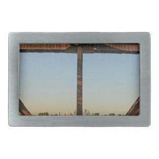 Bridge and Minneapolis Skyline Belt Buckle