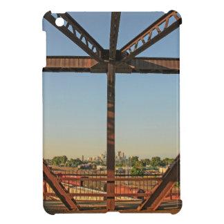 Bridge and Minneapolis Skyline Cover For The iPad Mini