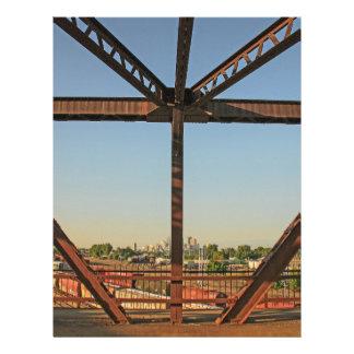 Bridge and Minneapolis Skyline Letterhead