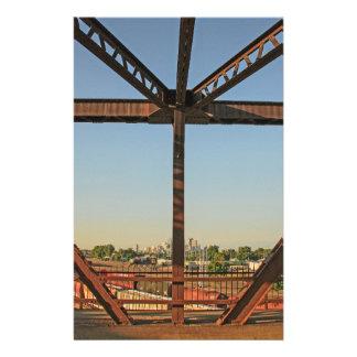 Bridge and Minneapolis Skyline Stationery