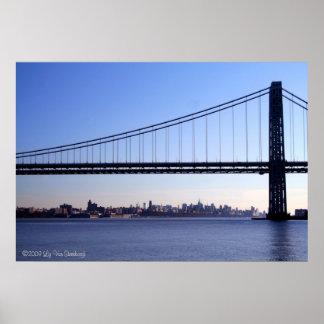 Bridge and NY Skyline Print